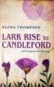 book cover, Lark Rise to Candleford