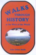 book cover, Walks through History