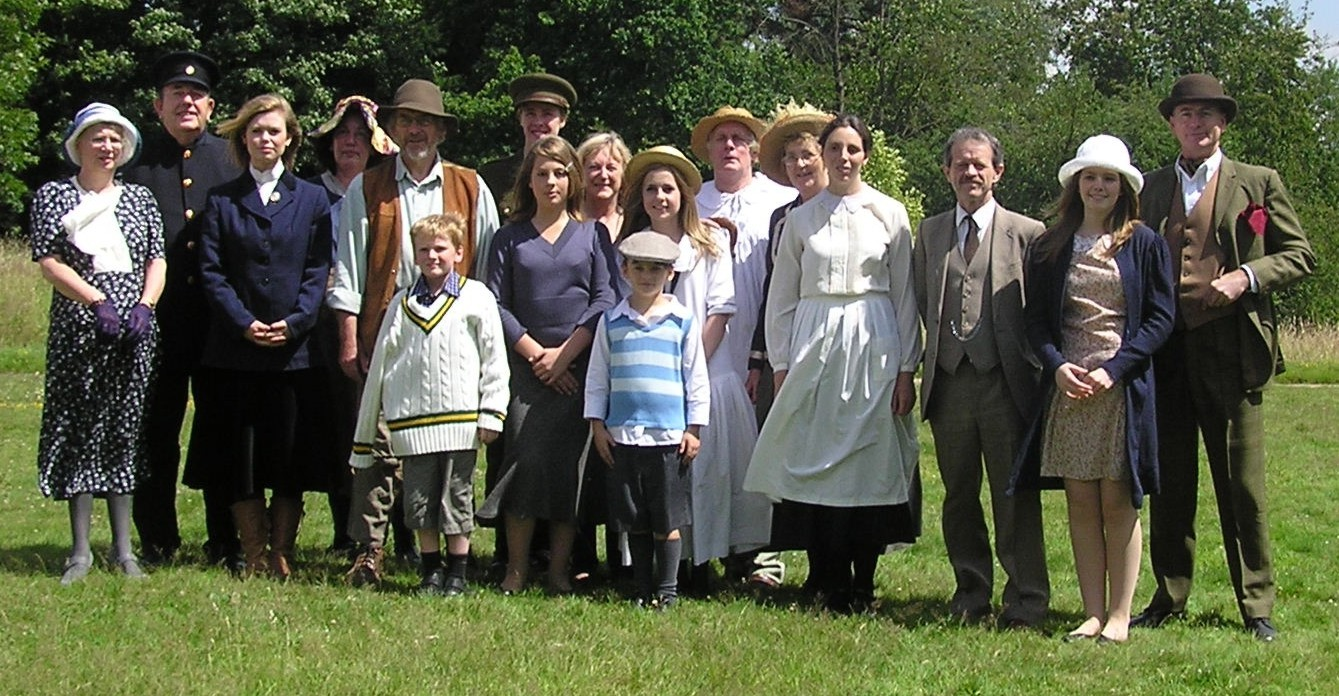 The cast of Flora's Heatherley', May 2006