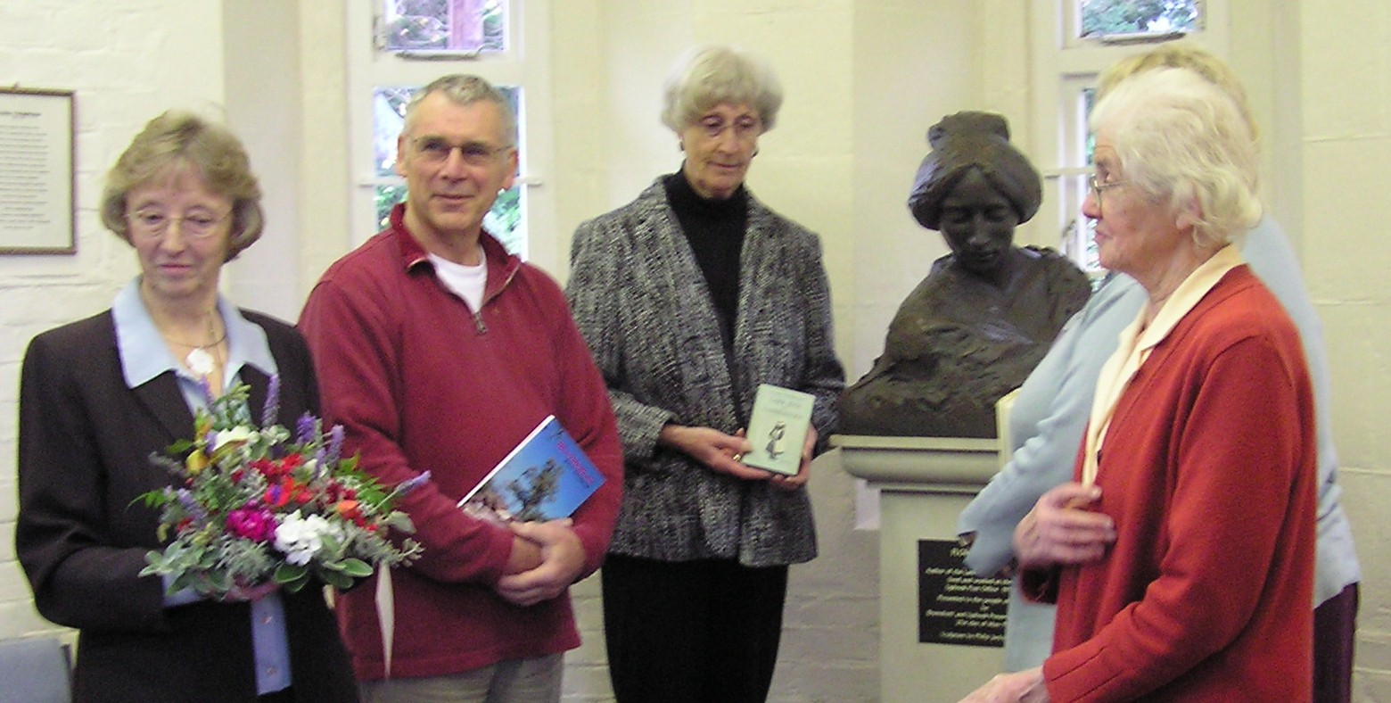 Celebrating Flora's 130th birthday in Liphook library